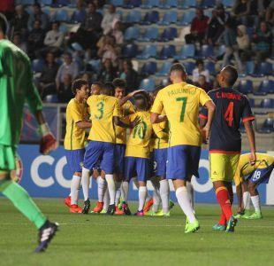 [VIDEO] Mira los golazos de Brasil que va al Mundial tras apabullar a Colombia