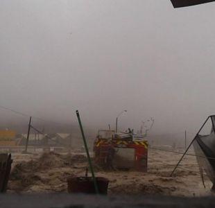 [VIDEO] Fuertes lluvias inundaron Copiapó y Tierra Amarilla