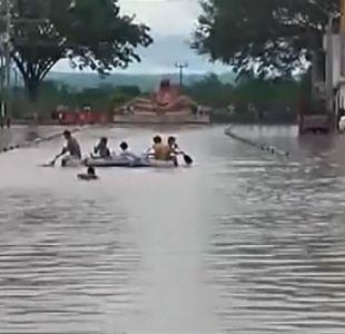 Cancillería confirma 62 chilenos aislados por inundaciones en Perú