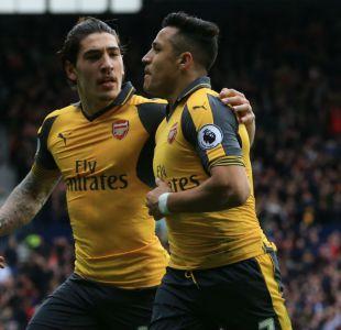 [VIDEO] Así fue el gran gol de Alexis Sánchez en la caída de Arsenal en Premier League
