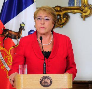 Minera Dominga: Bachelet dice que ella compró terreno y pide que dejen a mi hija tranquila