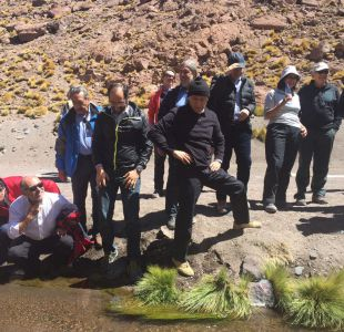 Canciller y parlamentarios visitan el Silala en medio de tensión con Bolivia