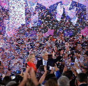 Piñera al finalizar su discurso