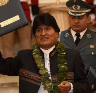 """Evo Morales dijo el miércoles que la nueva ley garantizará """"coca de por vida""""."""
