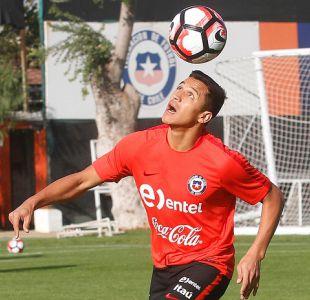 Alexis Sánchez se muestra feliz por volver a jugar en el estadio de River Plate