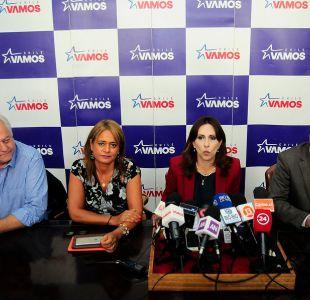 Ex ministros, históricos y deportistas: Las cartas parlamentarias de Chile Vamos