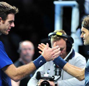 Roger Federer y Juan Martín Del Potro animarán duro duelo en el Masters 1000 de Miami