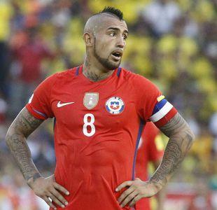 Tabla de goleadores de las Clasificatorias: Arturo Vidal aparece en el podio