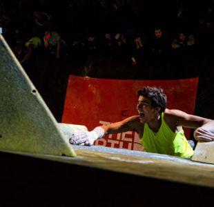 Chilenos acaparan podio del campeonato de escalada más importante de Sudamérica