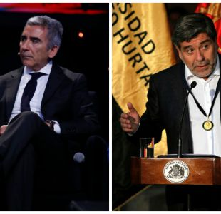 Carlos Peña y Eduardo Silva
