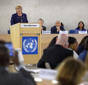 Bachelet pide impedir que se instrumentalice por algún Estado el Consejo de DDHH de la ONU