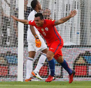 """Esteban Paredes encabeza registro de jugadores más veteranos en marcar por """"La Roja"""""""