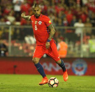 """Arturo Vidal deja el país triste por falta de gol y avisando: """"Queremos clasificar lo antes posible"""