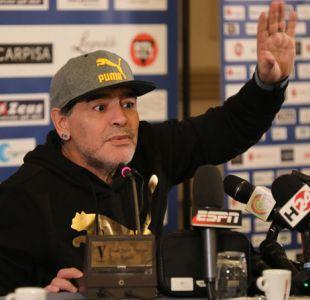 """Diego Maradona: """"A los jugadores de Argentina no se les notó la camiseta vs Bolivia"""""""