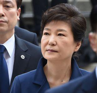 Detienen a ex Presidenta surcoreana destituida por corrupción