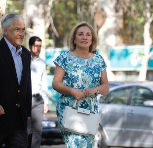 Sebastián Piñera y Cecilia Morel