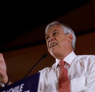 Piñera critica tardanza del Gobierno para combatir el terrorismo en La Araucanía
