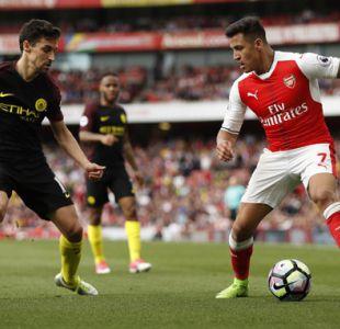 Arsenal de Alexis y Manchester City de Bravo igualan en la Premier League