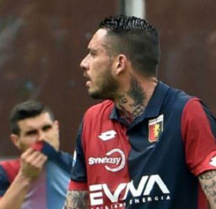 [VIDEO] Mauricio Pinilla por esta jugada y reacción recibió 5 fechas de castigo en Italia