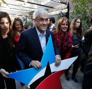 Sebastián Piñera presenta el comando que trabajará en su candidatura presidencial