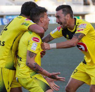San Luis vence con agónico gol a Audax Italiano en Quillota