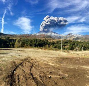 Así se ve el volcán Nevados de Chillán tras un nuevo pulso eruptivo