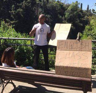 Exprofesor de inglés quiere convertir en emprendedores a los sin techo de Barcelona