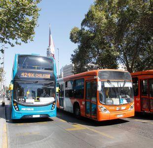 Transantiago: gobierno busca bajar en 5 puntos la evasión de aquí a julio