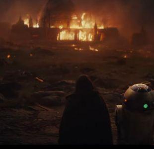 [VIDEO] Star Wars: revelan primer tráiler de El Último Jedi