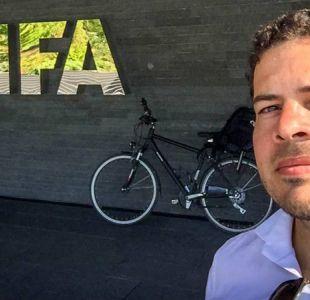 [VIDEO] Todo por un sueño: El chileno que cruzó Los Alpes porque anhela una nueva FIFA