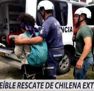 [VIDEO] Chilena desaparecida sobrevivió cinco días en la selva colombiana