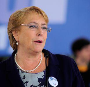 Bachelet antes de Junta DC: No hay progreso sin una sólida alianza entre el centro y la izquierda