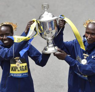 Kirui y Kiplagat firman un doblete keniano en Maratón de Boston