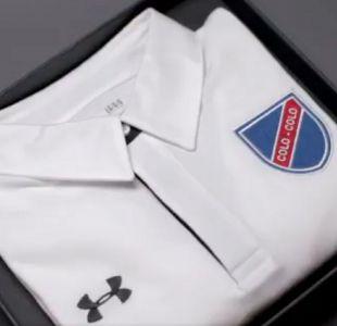 [VIDEO] Así luce la nueva camiseta conmemorativa que presenta Colo Colo