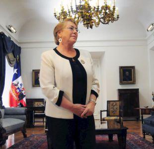 """Bachelet por Carabineros: """"No permitiremos que por unos pocos se pierda la confianza"""""""