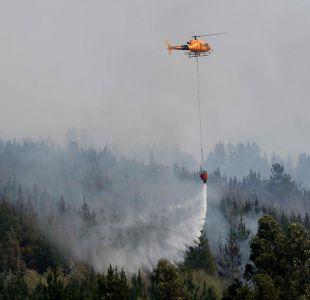 Decretan prisión preventiva para dos ejecutivos de CGE por incendios forestales