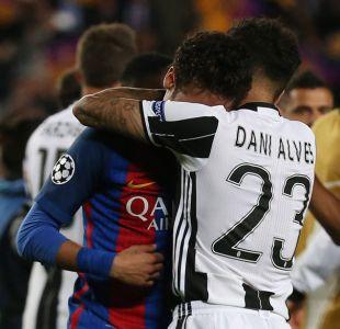 Dani Alves tras eliminar a Barcelona de Champions League: Es difícil ver a tus amigos tristes