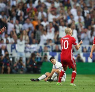 Juez no informa supuesta confrontación de Arturo Vidal y jugadores de Bayern Münich en camarín