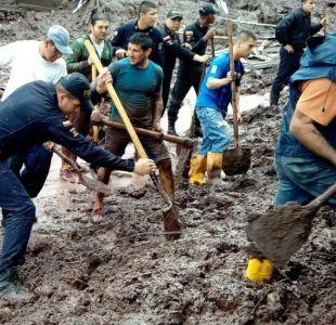Colombia: 16 muertos por un deslave en la ciudad de Manizales