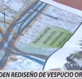 [VIDEO] Vecinos de La Reina piden rediseño de Autopista Vespucio Oriente