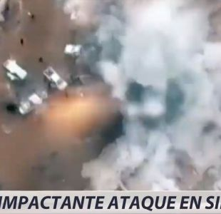 [VIDEO] Impactante ataque en Siria
