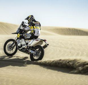 Quintanilla da otro paso y termina tercero en la segunda etapa del Rally de Qatar