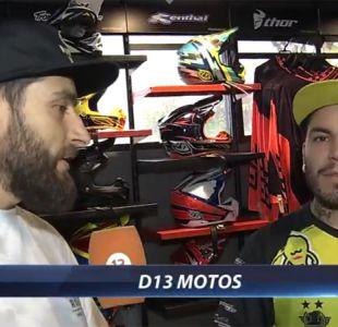 [VIDEO] El tercer capítulo de D13 Motos con el freestyle y los mejores tips para la lluvia