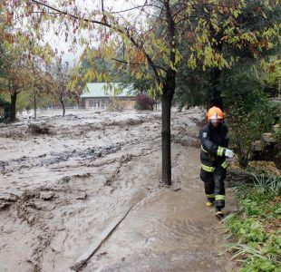 Gobernadora provincia Cordillera: a fines de mayo comenzará intervención en zona de desbordes