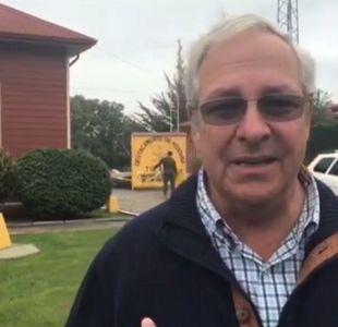 Diputado Urrutia visita a Cristián Labbé: Aquí hay una venganza y persecución insostenible