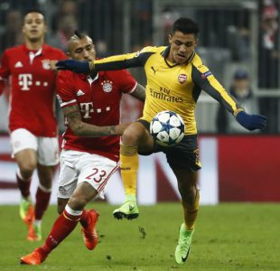 En Inglaterra aseguran que Bayern Munich ya decidió juntar a Alexis Sánchez con Vidal