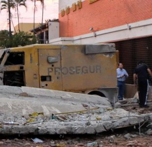 Armas de grueso calibre, explosivos y camionetas blindadas: así fue el robo del siglo paraguayo