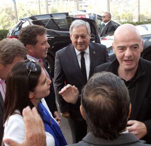 Presidente de la FIFA ya está en Chile para participar del Congreso de la Conmebol