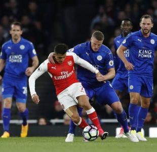 [Minuto a Minuto] Alexis Sánchez con Arsenal buscan el triunfo en casa ante Leicester