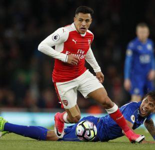 Premier League: Arsenal junto a Alexis Sánchez logra un laborioso triunfo ante Leicester